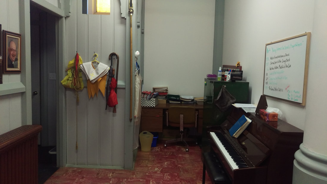 Music Room and Piano